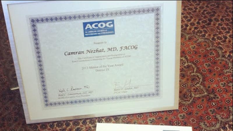 2012_ACOG_Mentor_Award